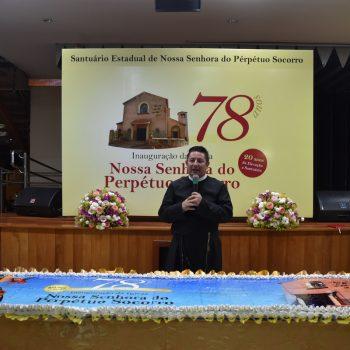 Missa solene e partilha do bolo de 78 anos da Igreja