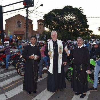 Santuário recebe Moto Romaria e carreata da 9ª Festa da Abadia