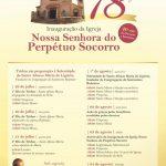 Confira a programação em comemoração aos 78 anos da Igreja Nossa Senhora do Perpétuo Socorro