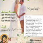 Inscrições abertas para curso de noivos