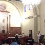 Santuário compartilha a experiência da novena com padre de Joinville