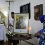 Ladário recebeu peregrinação do ícone da Padroeira do MS