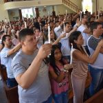 Casais passam pelo rito de iniciação cristã e recebem sacramentos antes da Legitimação Matrimonial
