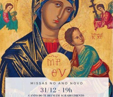 Horário Missa Ano Novo