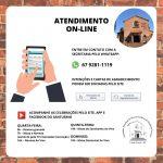 Atendimento e serviços ON-LINE