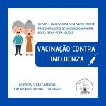 Vacinação contra influenza começa nesta terça-feira em Campo Grande