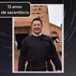 Pe. Reginaldo completa 13 anos de sacerdócio