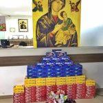 AFIM distribui caixas de bombom para comunidades de Campo Grande