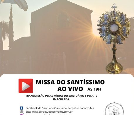 Missa do Santíssimo AO VIVO