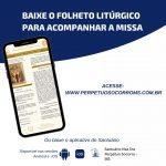 Baixe o Folheto Litúrgico das Missas desta quinta-feira