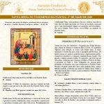 Baixe o Folheto Litúrgico da Missa deste domingo