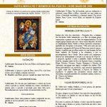 Baixe o Folheto Litúrgico da Missa do V Domingo de Páscoa