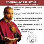Oração para fazer comunhão espiritual