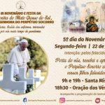 5º dia do Novenário terá como intenção pelos falecidos, em especial às vítimas do COVID-19