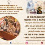 7º dia do Novenário terá como intenção pelos idosos