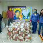 AFIM recebe doação de cerca de 1 tonelada de alimentos