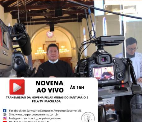 Novena Ao Vivo – 16h