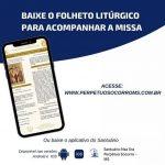 Baixe o folheto litúrgico das missas