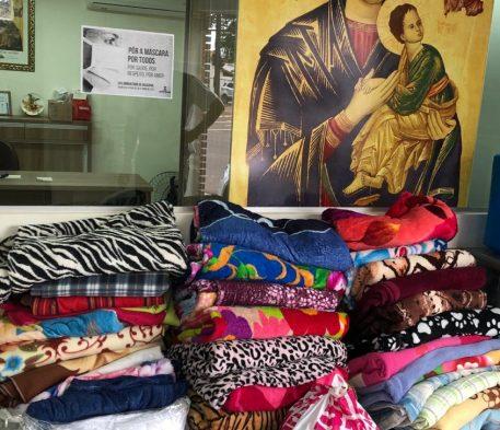Ação social da AFIM realiza doação para a Pastoral Carcerária