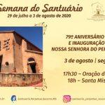 Nessa segunda será o 79° Aniversário da Igreja Nossa Senhora do Perpétuo Socorro