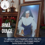Santuário celebra dia de Santa Dulce dos Pobres