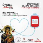 Santuário realiza campanha de Doação de Sangue