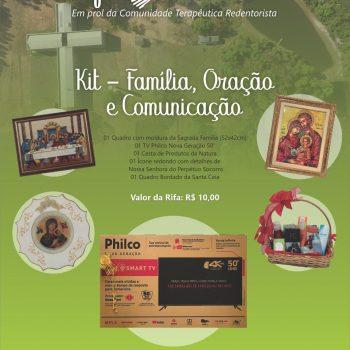 Santuário lança Rifa Solidária neste domingo (20/09/2020)