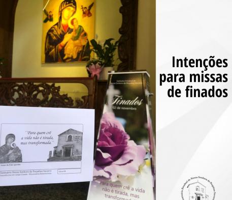 Intenções para missas de finados