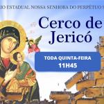 4° dia do Cerco de Jericó será nesta quinta-feira