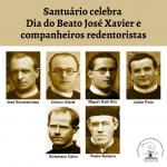 Santuário celebra Dia do Beato José Xavier e companheiros redentoristas