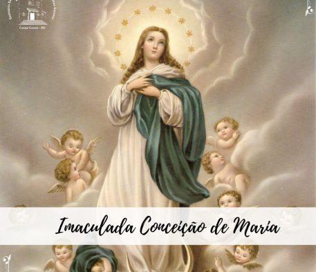 Dia 8 de dezembro é Dia da Imaculada Conceição de Maria