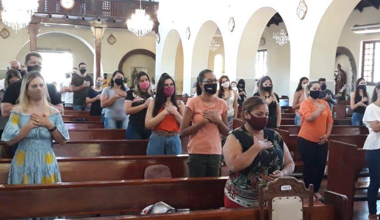 Santuário celebra Entrada do Catecumenato da Catequese