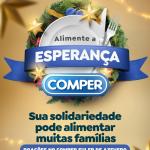 Doações de alimentos no Comper Euler de Azevedo serão destinadas ao Santuário