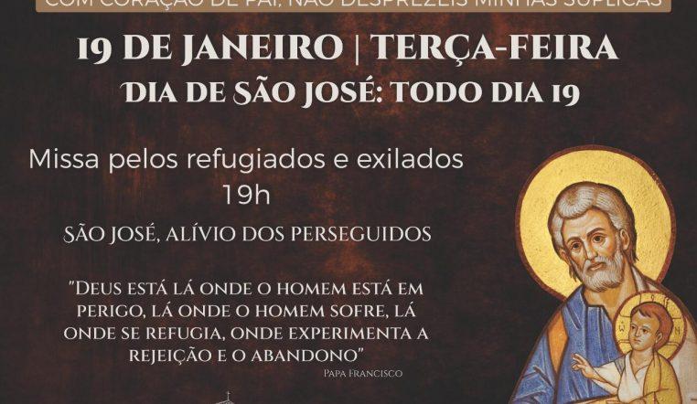Santuário celebra missa especial do Ano de São José nesta terça-feira