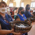 Santuário abençoa canetas de candidatos do Enem