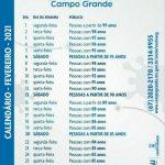 Prefeitura de Campo Grande define calendário de vacinação