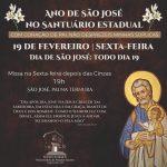 Santuário celebra missa especial do Ano de São José nesta sexta-feira