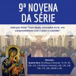 O Santuário celebra a 9ª novena da série nesta quarta-feira