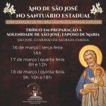 Santuário Celebra Tríduo de preparação para dia de São José