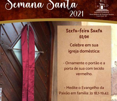 Orientações para celebrar Sexta-feira Santa em casa
