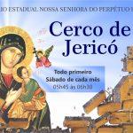 Cerco de Jericó celebrado em dias consecutivos terá início sábado, 6.