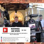 Novena AO VIVO pelas plataformas digitais e TV Imaculada