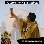 Pe. Reginaldo Padilha celebra 14 anos de sacerdócio
