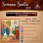 Santuário celebra Domingo de Ramos dia 27 e 28 de março