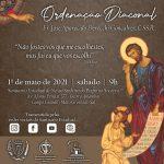 Missa de ordenação diaconal do Frater José Aparecido Devecchi Gonçalves, C.Ss.R será sábado (1º de maio)