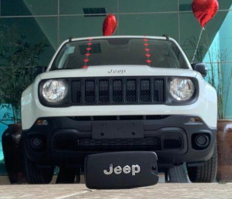 Rifa terá Jeep Renegade como prêmio