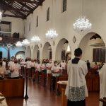 Santuário celebra Rito da Iniciação Cristã de 87 homens e mulheres adultos