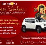 Campanha sorteia Jeep Renegade