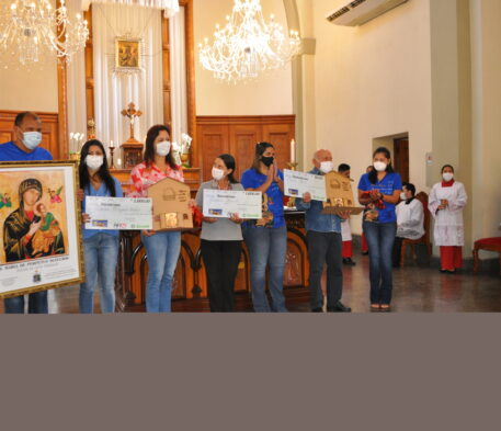 Contemplados no 1º sorteio da Campanha recebem prêmios
