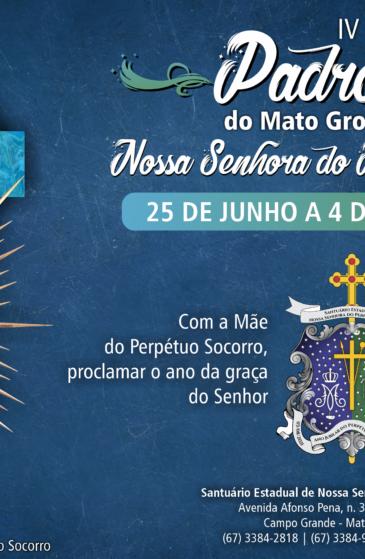 Novenário da Padroeira de MS será de 25 de junho a 4 de julho